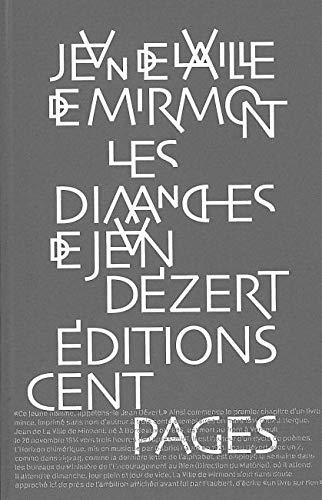 9782916390055: Les dimanches de Jean D�zert