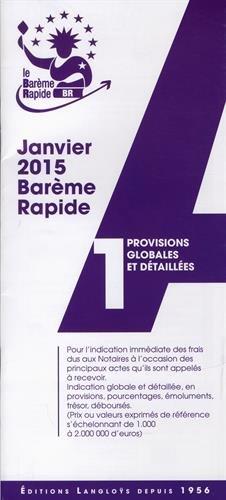 9782916436524: Barème rapide A1