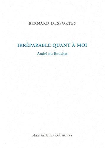 IRREPARABLE QUANT A MOI: DESPORTES BERNARD