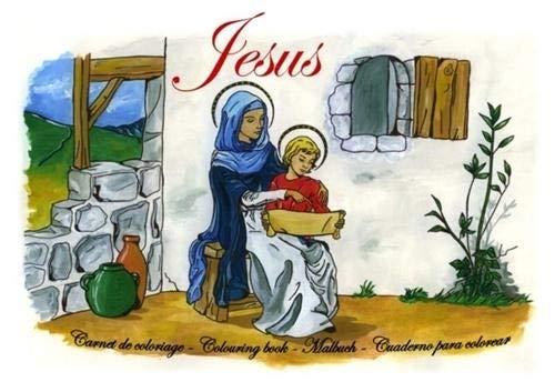 9782916455006: Vie de jesus : carnet de coloriage