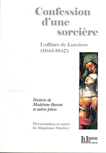 CONFESSION D UNE SORCIERE: VAUTIER STEPHANE