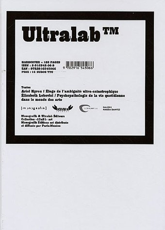 9782916545066: Ultralab Samaran 2 : Catalogue 2