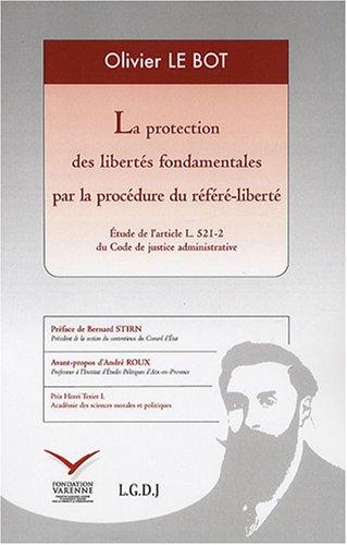 la protection des libertés fondamentales par la procédure du référ&...