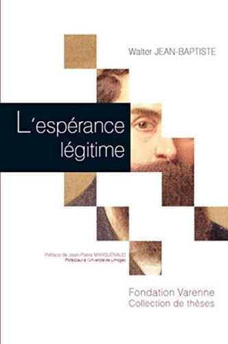 Espérance Legitime (l')