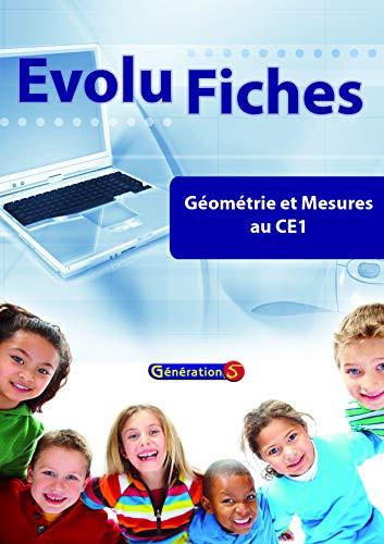 9782916785424: Evolu Fiches : Géometrie et Mesures au CE1 (Fichier Papier + Cederom)