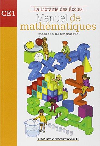 9782916788081: Manuel de mathématiques CE1 : Cahier d'exercices B