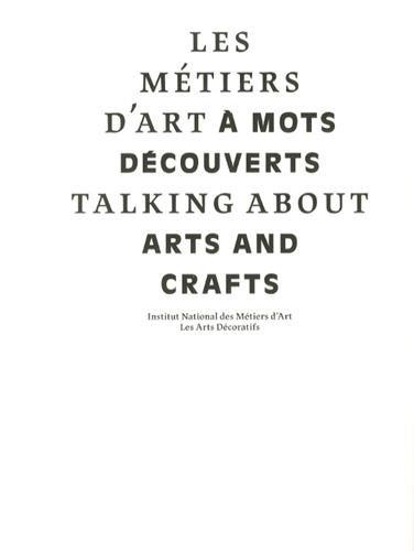 9782916914466: Les métiers d'art à mots découverts