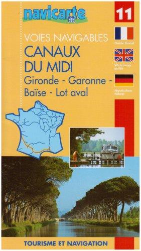 9782916919096: Voies Navigables - Canaux du Midi (Gironde - Garonne - Baise - Lot Aval) - 11