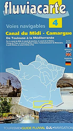 9782916919393: Les voies navigables du canal du Midi Camargue : De Toulouse à la Méditerranée