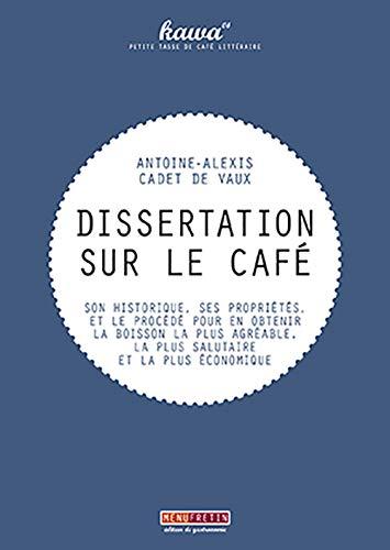 9782917008447: Dissertation sur le café