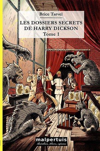 9782917035085: les dossiers secrets de Harry Dickson t.1