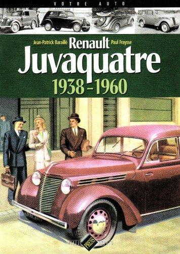 9782917038079: Renault Juvaquatre [1938-1960]