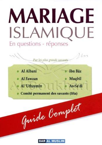 9782917113103: Mariage Islamique en Questions-Réponses