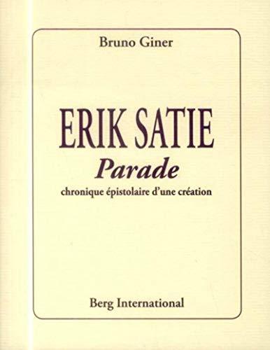9782917191934: Erik Satie. Parade
