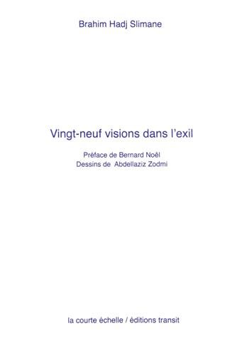 9782917270059: Vingt-neuf visions dans l'exil