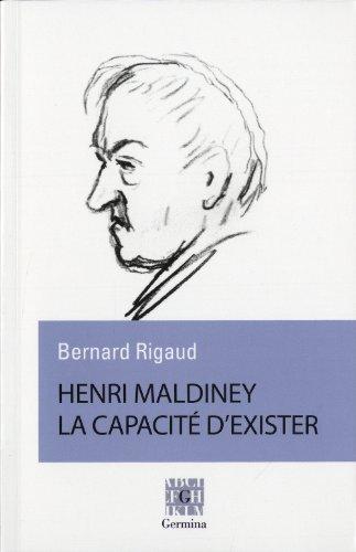 9782917285251: Henri Maldiney, la capacité d'exister