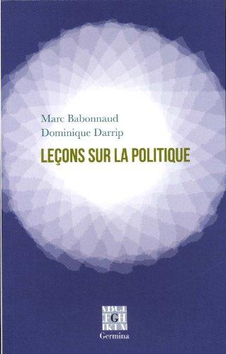 9782917285589: Le�ons sur la politique