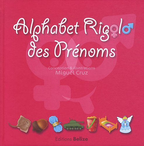 9782917289617: Alphabet rigolo des pr�noms