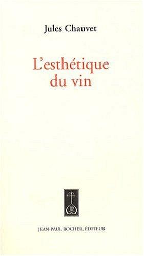 9782917411148: Esthetique du Vin (l')