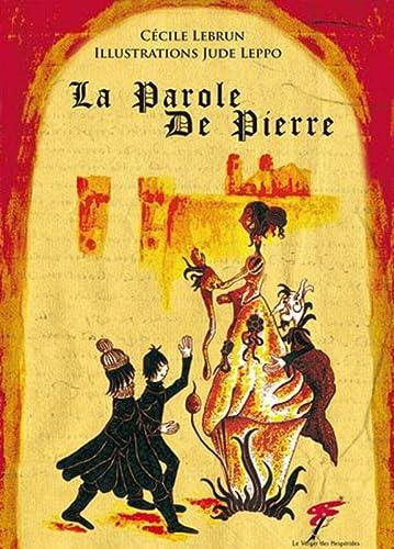 La Parole de Pierre: Cécile Lebrun & Jude Leppo