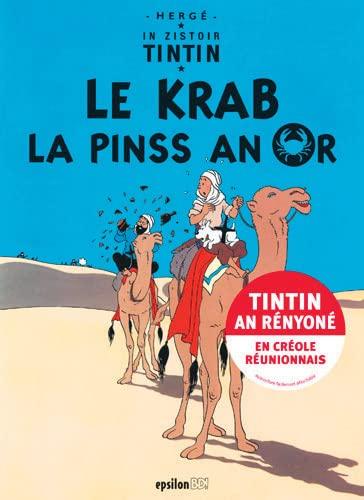 9782917869116: In zistoir Tintin : Le krab la pinss an or
