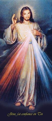 9782917975534: Affiche Jesus Misericordieux 30*80