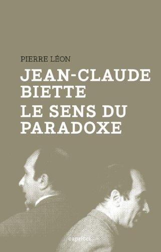 Jean-Claude Biette, le sens du paradoxe: L�on, Pierre