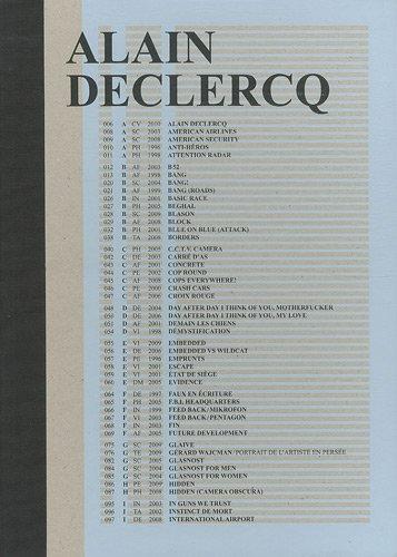 9782918063087: Alain Declercq