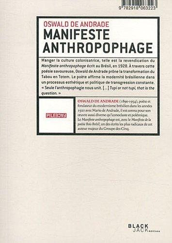 9782918063223: Manifeste anthropophage : Anthropophagie zombie