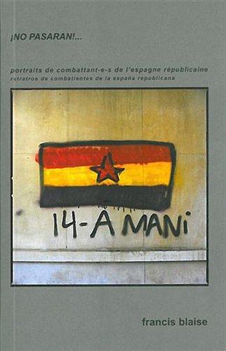 9782918112136: No Pasaran ! (French Edition)