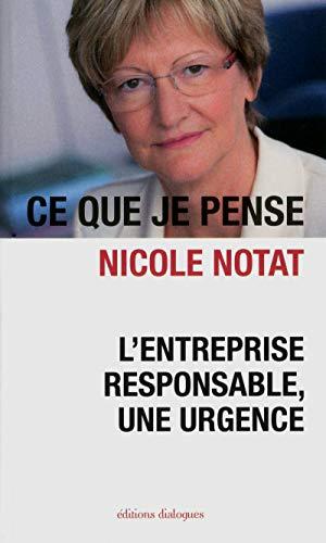 9782918135647: L'entreprise responsable, une urgence (French Edition)