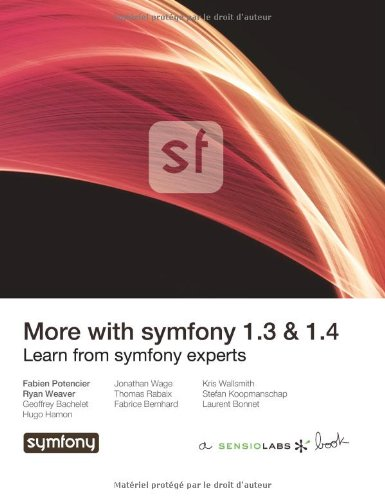 9782918390176: More with symfony 1.3 & 1.4