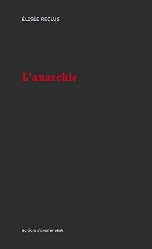 ANARCHIE -L-: RECLUS ELISEE