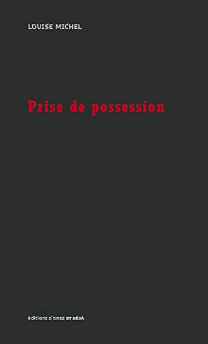 PRISE DE POSSESSION: MICHEL LOUISE