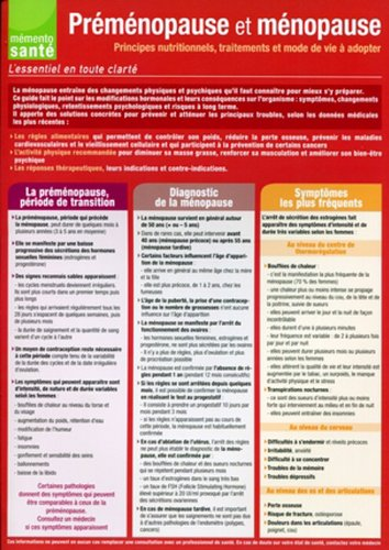 9782918708063: Préménopause et ménopause Principes nutritionnels, traitements et mode de vie à adopter