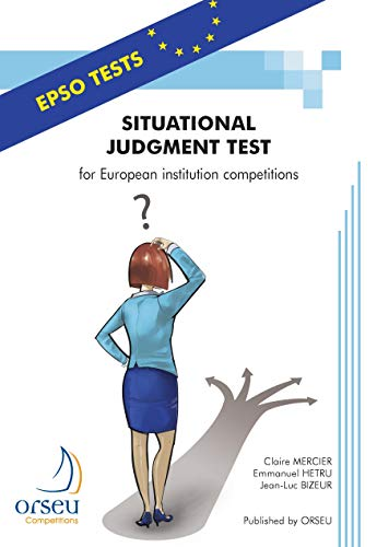 9782918796121: Situational Judgment Test: For European Institution Competitions