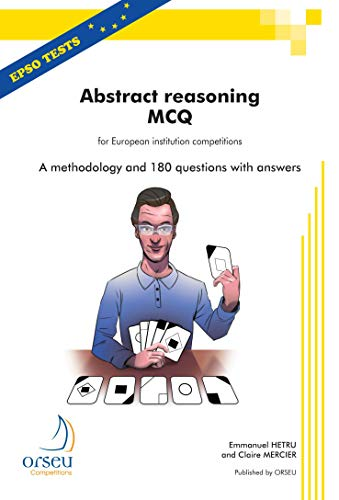 9782918796220: Abstract Reasoning MCQ for European institution competitions