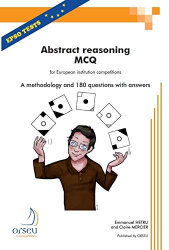 9782918796480: Abstract Reasoning MCQ 2013: For European Institution Competitions