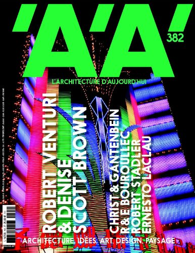 9782918832096: L'Architecture d'Aujourd'Hui N 382 - Robert Venturi & Denise Scott Brown