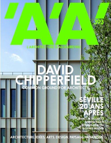 9782918832218: L'Architecture d'Aujourd'Hui N 393 - David Chipperfield