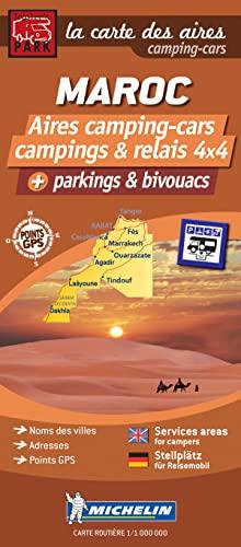 Morocco Map - Motorhomes Stopovers: Moriyama Daido