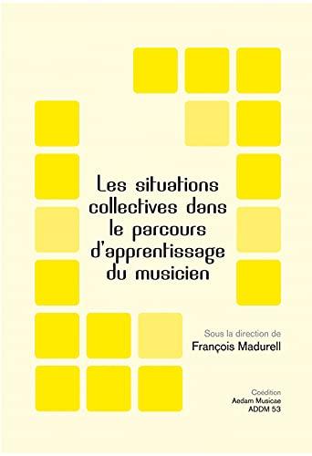 9782919046072: Les situations collectives dans le parcours d'apprentissage du musicien