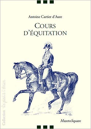 Cours d'équitation: Antoine Cartier D'aure