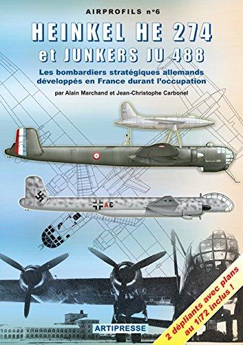 9782919231027: Heinkel He 274 et Junkers Ju 488