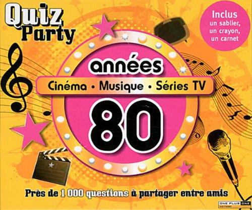9782919303342: Années 80 : Cinéma, musique, séries TV (1Jeu)