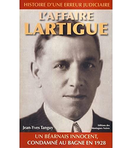 9782919305117: L'affaire Lartigue