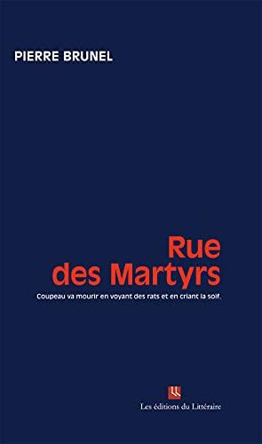 9782919318117: Rue des Martyrs