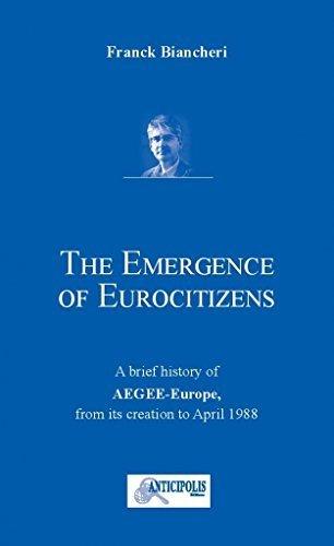 9782919574131: L'Emergence des Euro-Citoyens - (Le Petit Livre Bleu)