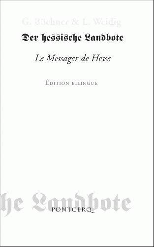 MESSAGER DE HESSE -LE-: BUCHNER GEORG