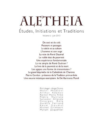 9782919656127: Aletheia Vol 6